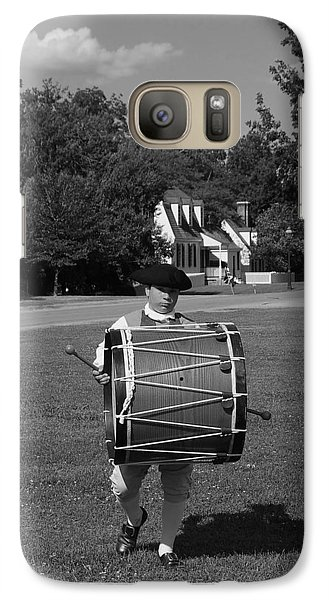 Galaxy Case featuring the photograph Drummer Boy by Eric Liller
