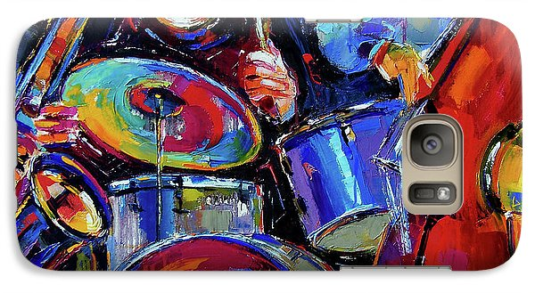 Drums And Friends Galaxy S7 Case