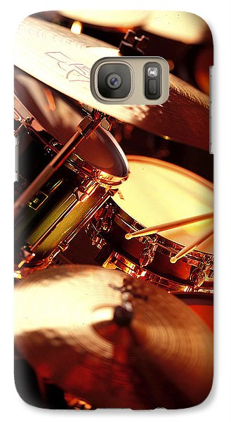 Drum Galaxy S7 Case - Drums by Robert Ponzoni