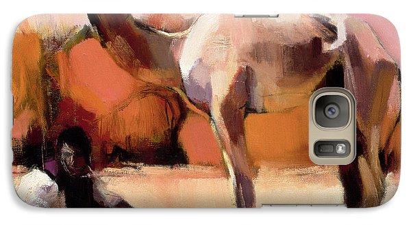 Desert Galaxy S7 Case - dsu and Said - Rann of Kutch  by Mark Adlington