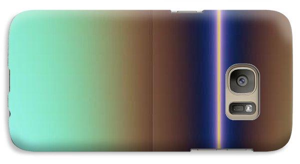 Galaxy Case featuring the digital art Duality IIi by Dragica  Micki Fortuna