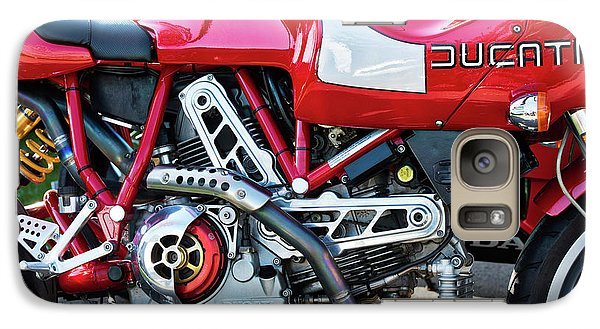 Galaxy Case featuring the photograph Ducati Mh900 Evoluzione by Tim Gainey