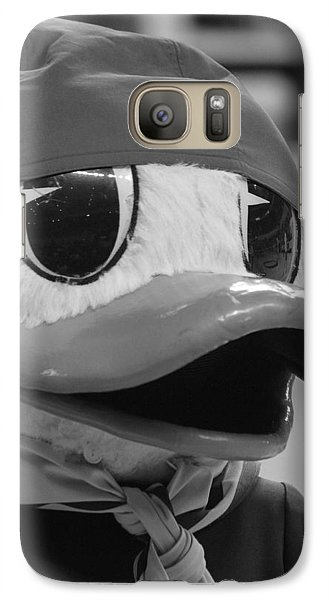 Galaxy Case featuring the photograph Ducking Around by Laddie Halupa