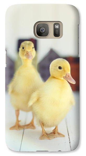 Ducks In The Neighborhood Galaxy S7 Case