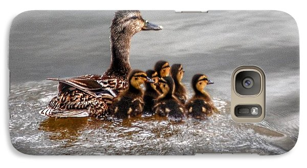 Galaxy Case featuring the photograph Ducky Daycare by Sumoflam Photography