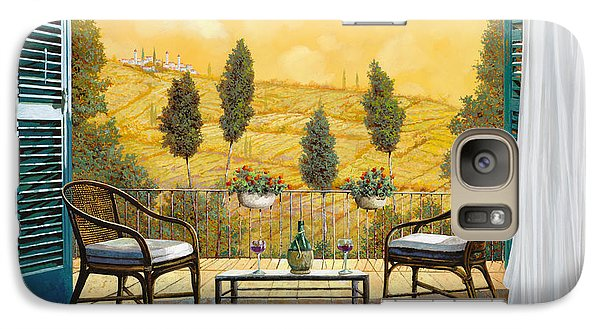 Cocktails Galaxy S7 Case - due bicchieri di Chianti by Guido Borelli