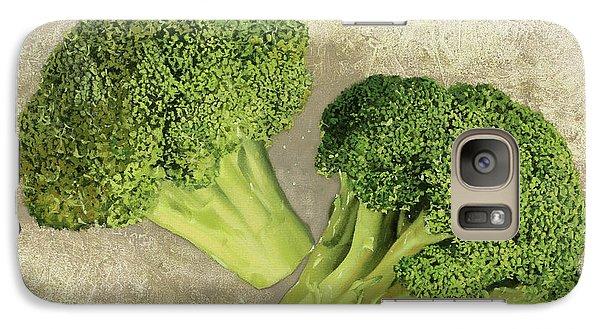 Due Broccoletti Galaxy Case by Guido Borelli