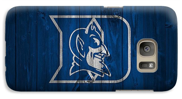 Duke Blue Devils Barn Door Galaxy S7 Case by Dan Sproul