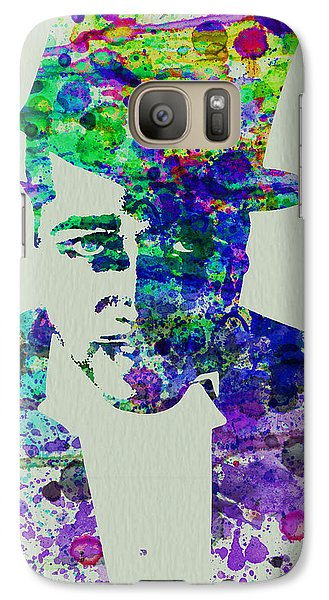 Saxophone Galaxy S7 Case - Duke Ellington by Naxart Studio