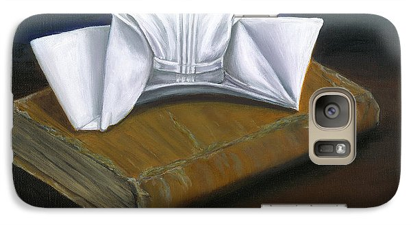 Galaxy Case featuring the painting Duke University School Of Nursing by Marlyn Boyd