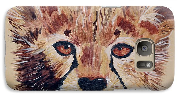 Galaxy Case featuring the painting Duma by Phyllis Kaltenbach