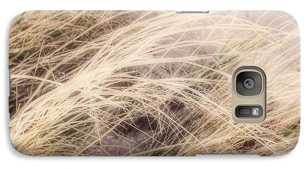 Galaxy Case featuring the photograph Dune Grass Nature Photography by Ann Powell