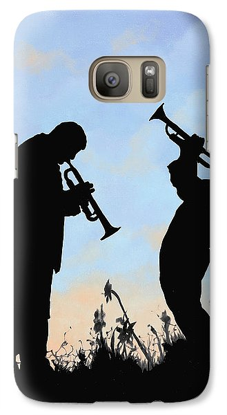 Trumpet Galaxy S7 Case - duo by Guido Borelli