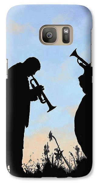 Trumpet Galaxy S7 Case - duo by Guido Borelli