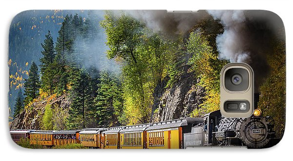 Train Galaxy S7 Case - Durango-silverton Narrow Gauge Railroad by Inge Johnsson