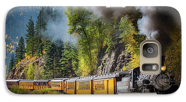 Durango-silverton Narrow Gauge Railroad Galaxy Case by Inge Johnsson