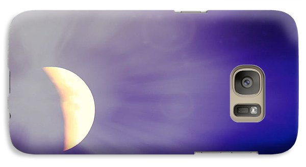 Aries Moon During The Total Lunar Eclipse 3 Galaxy S7 Case