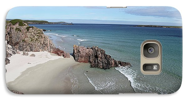 Galaxy Case featuring the photograph Durness - Sutherland by Pat Speirs