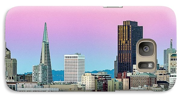 Galaxy Case featuring the photograph Dusk In San Francisco by Bill Gallagher