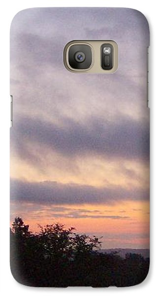 Galaxy Case featuring the photograph Dusk by Skyler Tipton