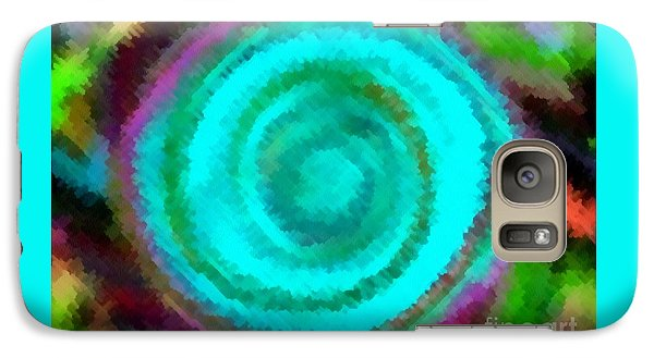 Galaxy Case featuring the painting Dusted by Catherine Lott