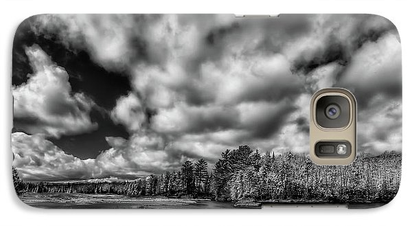Galaxy Case featuring the photograph Dusting Of Snow On The River by David Patterson