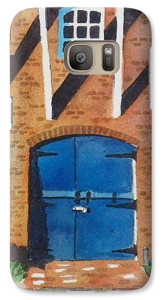 Galaxy Case featuring the painting Dutch Door by LeAnne Sowa