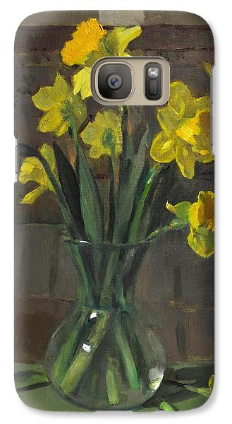 Dutch Master Narcissus In An Hourglass Vase Galaxy S7 Case