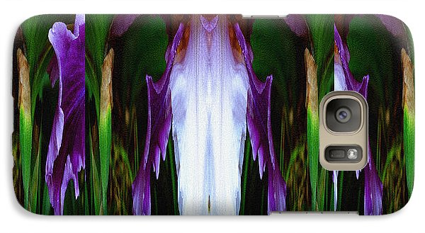 Galaxy Case featuring the photograph Duvet Mystique by Robert Kernodle