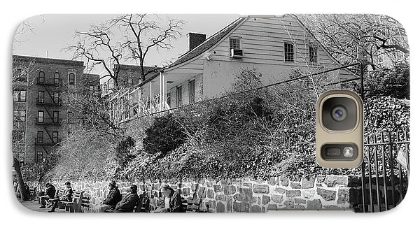 Galaxy Case featuring the photograph Dyckman Farmhouse  by Cole Thompson