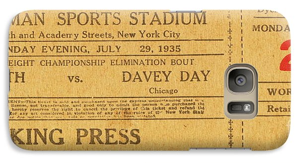 Galaxy Case featuring the photograph Dyckman Oval Ticket by Cole Thompson