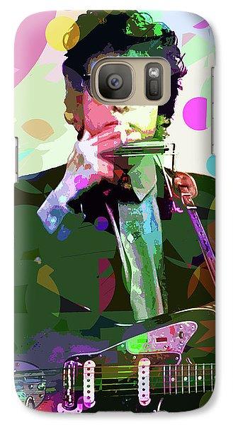Dylan In Studio Galaxy Case by David Lloyd Glover