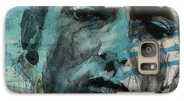 Bob Dylan Galaxy S7 Case - Dylan - Retro  Maggies Farm No More by Paul Lovering