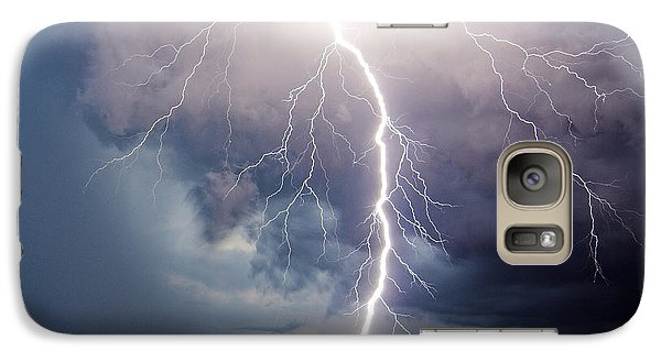 Galaxy Case featuring the photograph Dynamic Electricity by Dan Wells