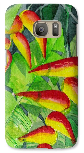 Galaxy Case featuring the painting Dynamic Halakonia by Eric Samuelson