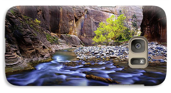 Galaxy Case featuring the photograph Dynamic Zion by Chad Dutson