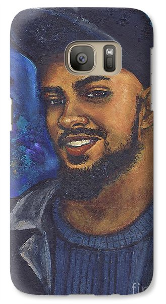 Galaxy Case featuring the painting E by Alga Washington