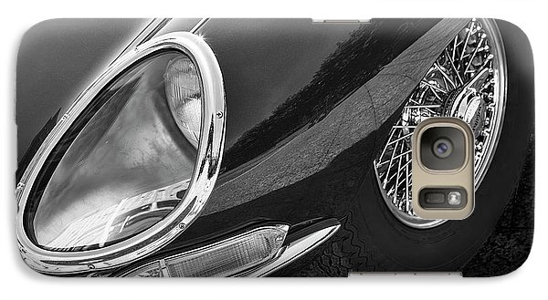 Galaxy Case featuring the photograph E-type Monotone by Dennis Hedberg
