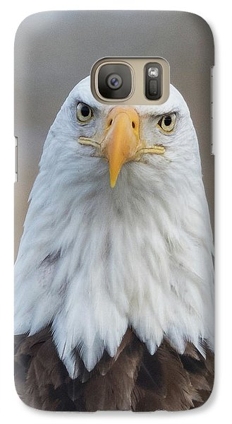 Galaxy Case featuring the photograph Eagle Attitude by Angie Vogel