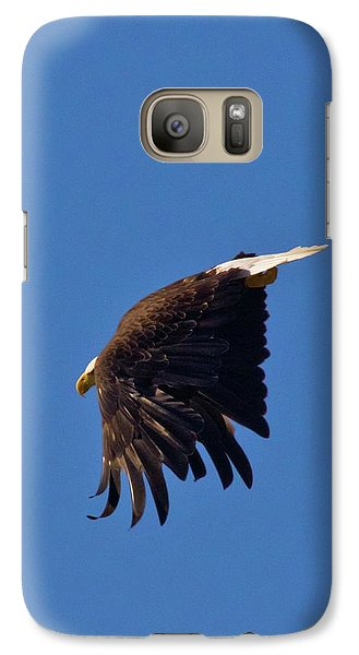 Galaxy Case featuring the photograph Eagle Dive by Linda Unger