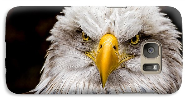 Defiant And Resolute - Bald Eagle Galaxy S7 Case