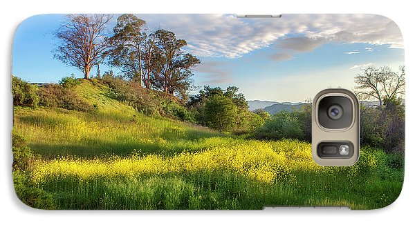 Galaxy Case featuring the photograph Eagle Grove At Lake Casitas In Ventura County, California by John A Rodriguez