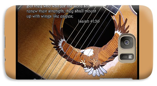 Galaxy Case featuring the photograph Eagle Guitar by Jim Mathis
