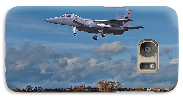 Galaxy Case featuring the photograph Eagle On Finals by Paul Gulliver