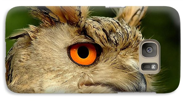 Eagle Owl Galaxy S7 Case by Jacky Gerritsen