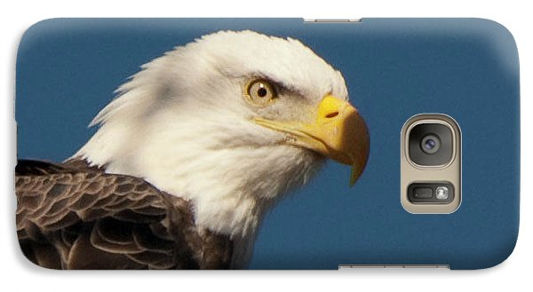 Galaxy Case featuring the photograph Eagle by Rod Wiens