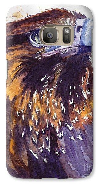 Robin Galaxy S7 Case - Eagle's Head by Suzann's Art
