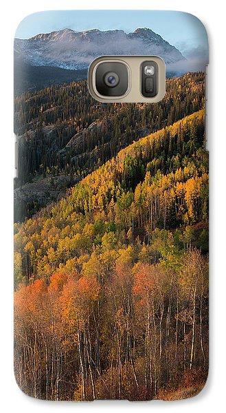 Galaxy Case featuring the photograph Eagle's Nest Peak Vertical by Aaron Spong