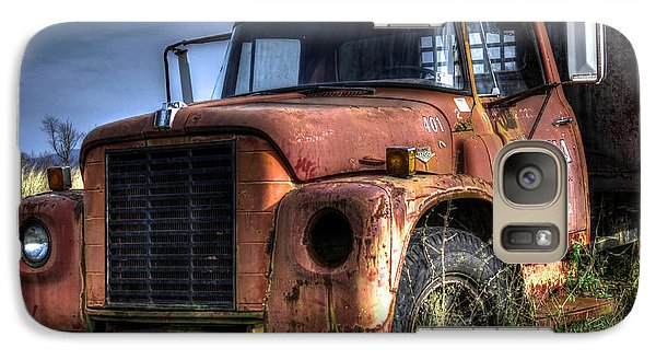 Galaxy Case featuring the photograph Earl Latsha Lumber Company Version 3 by Shelley Neff