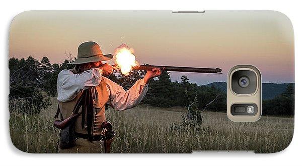 Early 1800's Flintlock Muzzleloader Blast Galaxy S7 Case